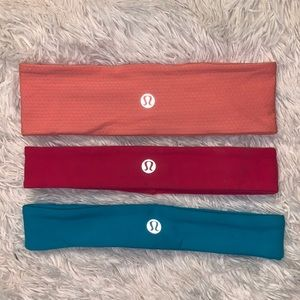 LULULEMON HEADBAND BUNDLE OF 3
